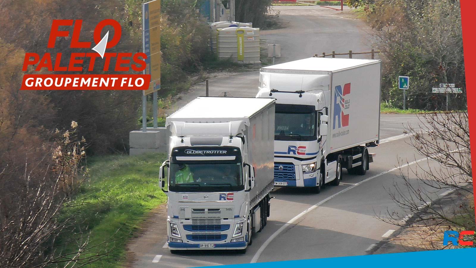 FLO Palettes, la distribution de lots en 24/48h en France