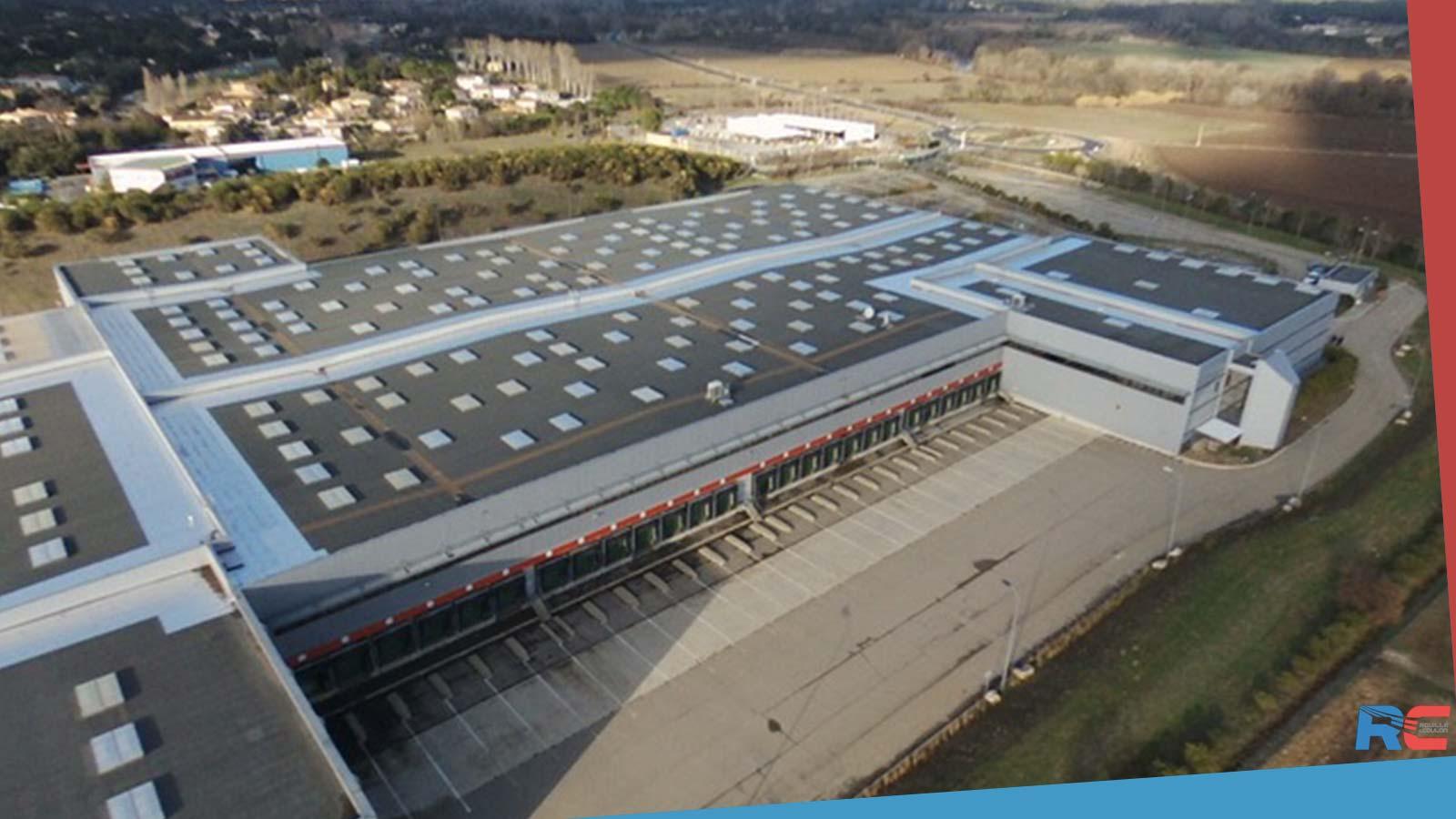 Notre site logistique de Boisseron dans l'Hérault