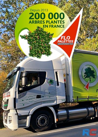"""""""10 palettes pour la planète"""" : l'engagement FLO Palettes"""