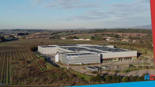 Découvrez notre nouvelle plate-forme logistique de Boisseron entre Montpellier et Nîmes